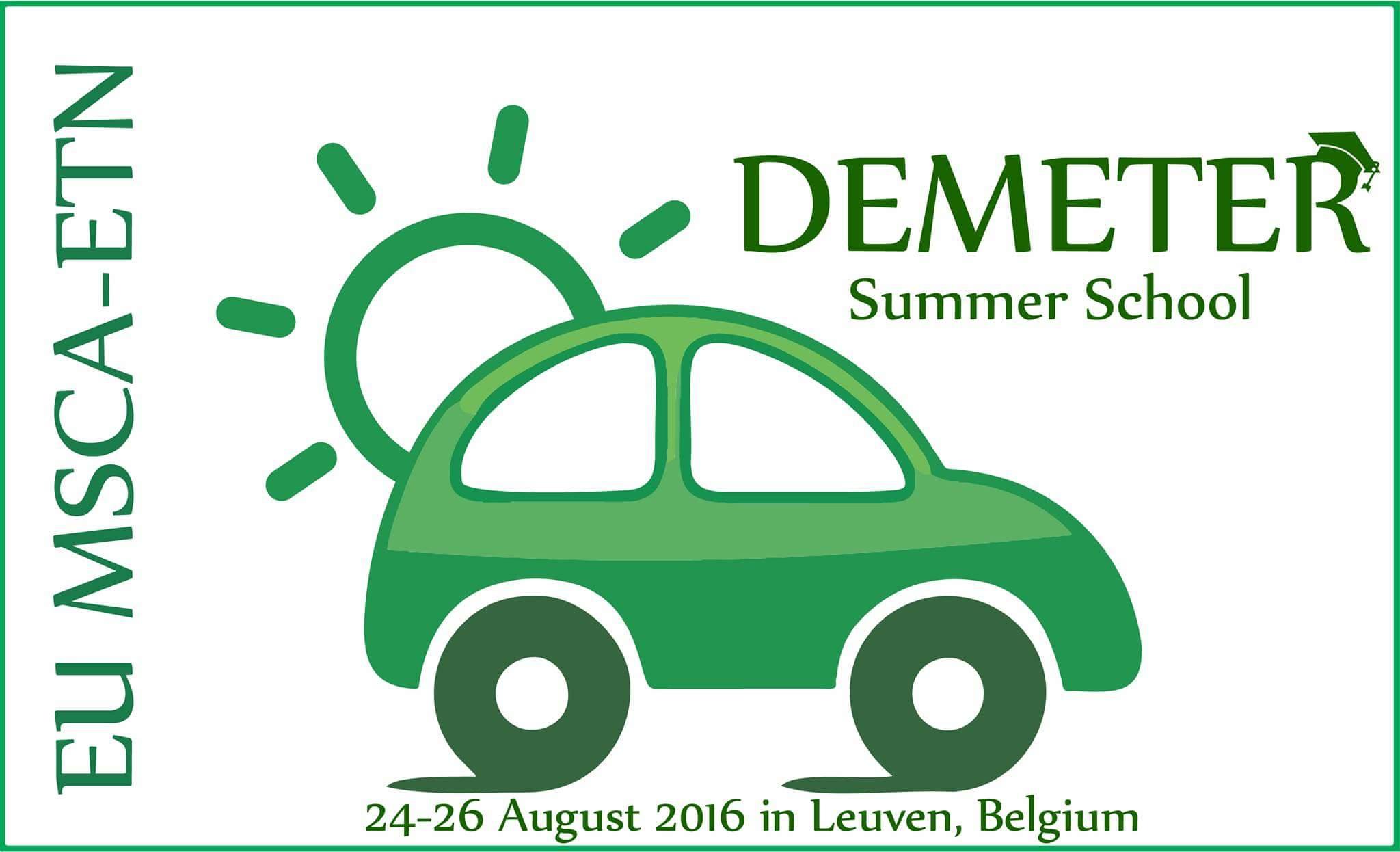 DEMETER Summer School