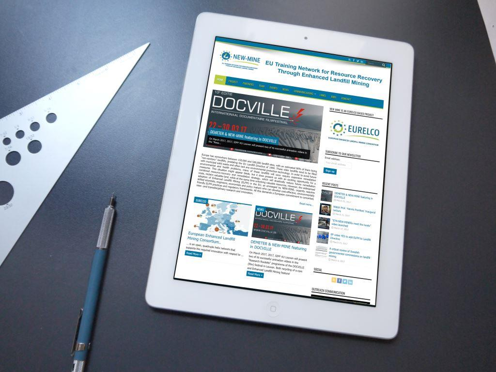 new-mine tablet web