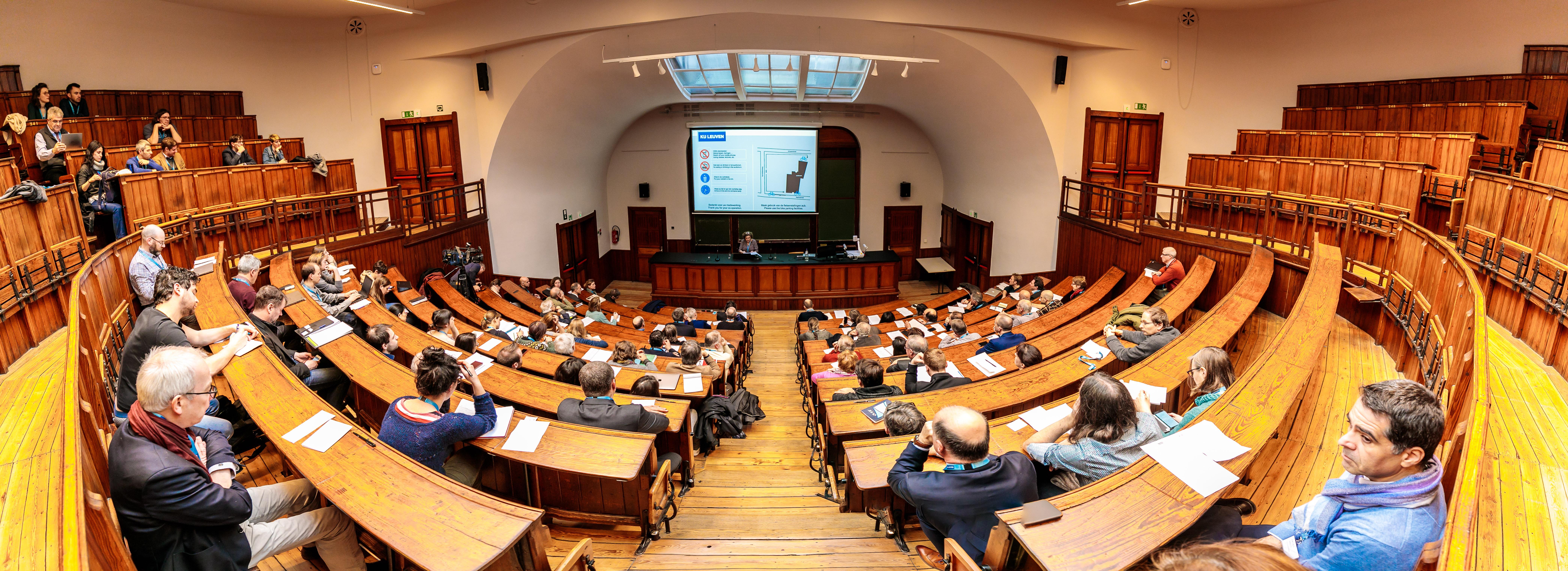 SLO Symposium in Leuven (Credits image: Nicolas Herbots)