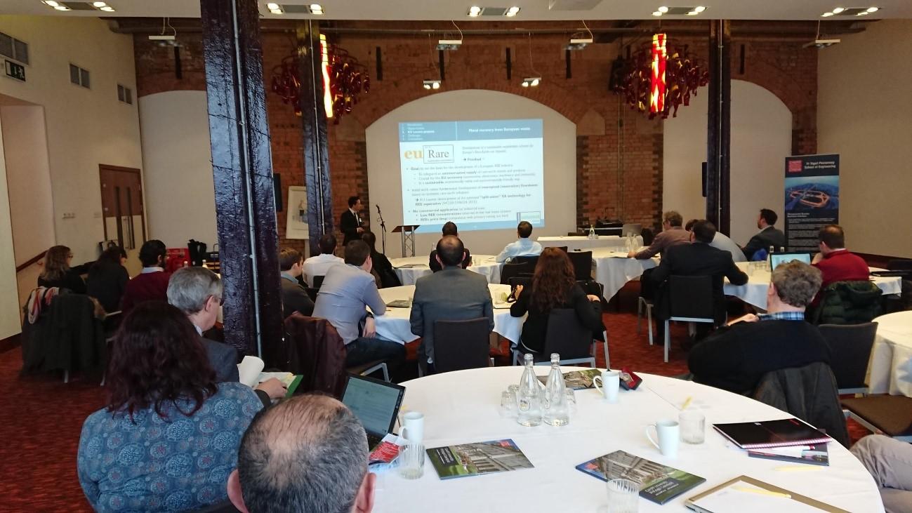 Joris Roosen @ INSPIRE Conference, Wales, 21-2-2018
