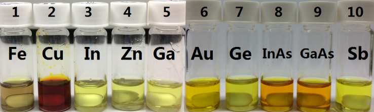 Mixtures of metal chlorides and trichloride ionic liquid after complete dissolution of the corresponding metals and alloys.