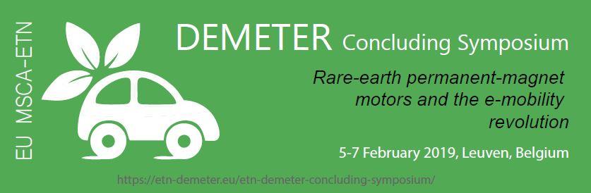 Banner Closing DEMETER Symposium