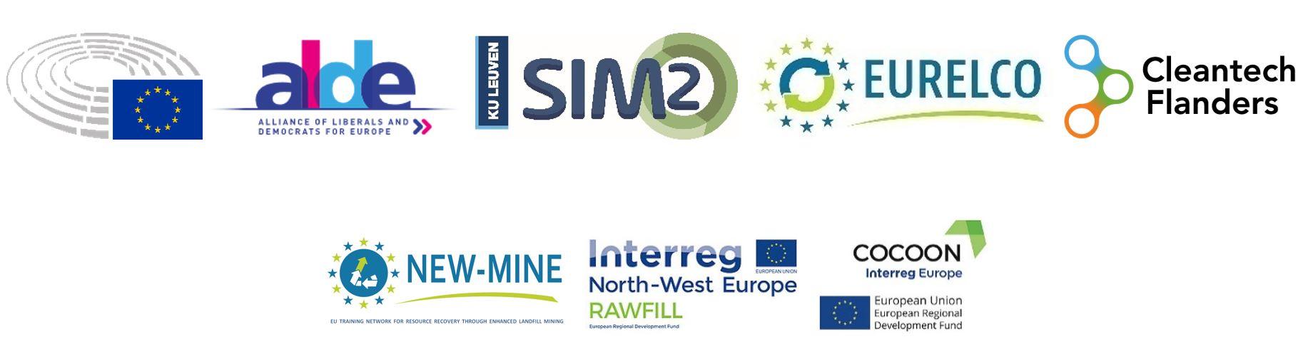 Logos organisers EP event
