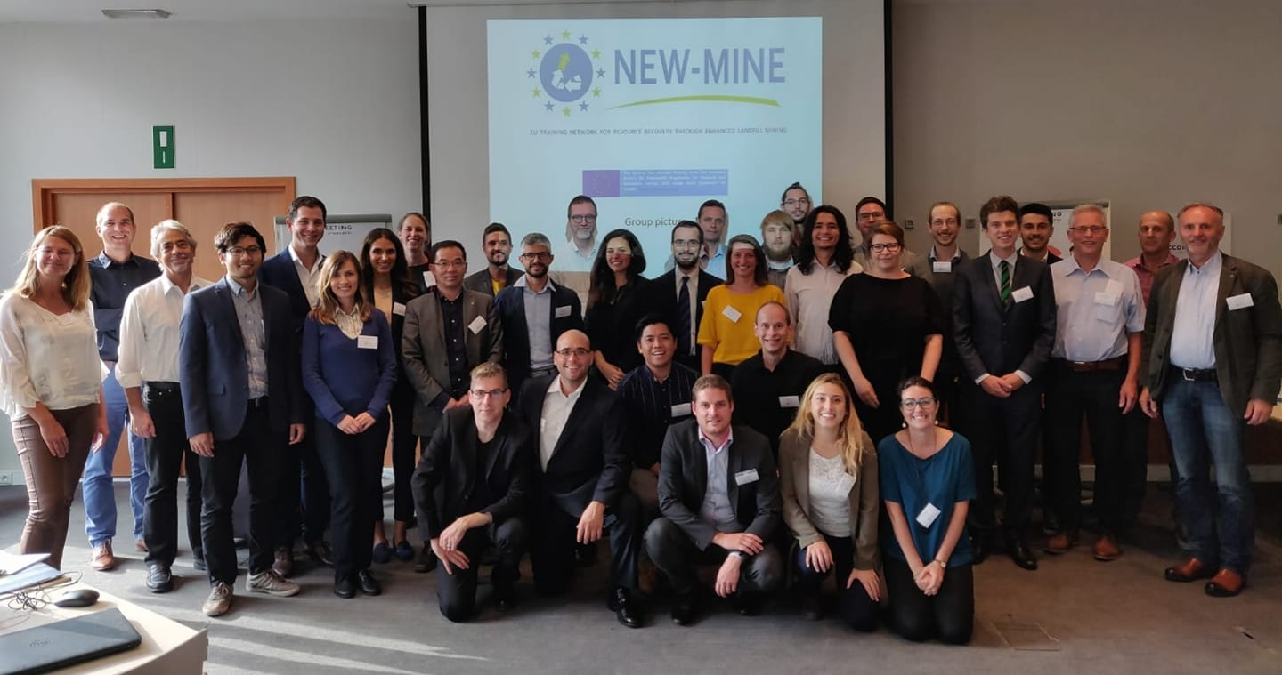 Photo NEW-MINE consortium (Leuven)