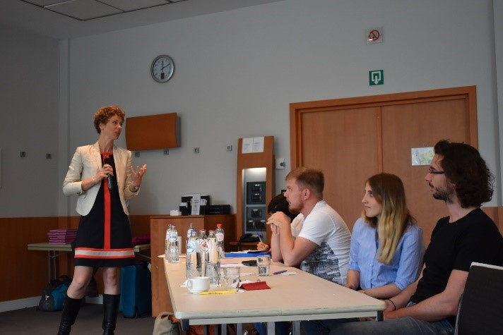 Photo Christina Meskers (Umicore) @ Summer School To mine or not to mine? (Sep' 2018)