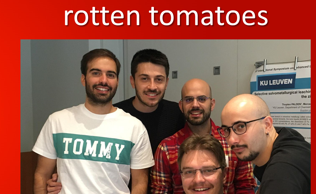 Photo Rotten Tomatoes @ Summer School To mine or not to mine? (Sep' 2018)