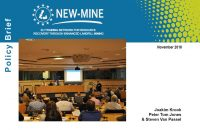 Cover NEW-MINE Policy Brief
