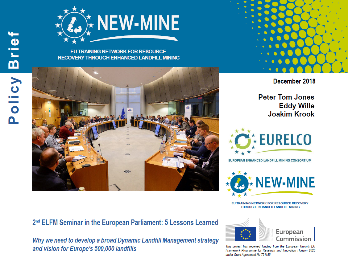 Snapshot of NEW-MINE Policy Brief