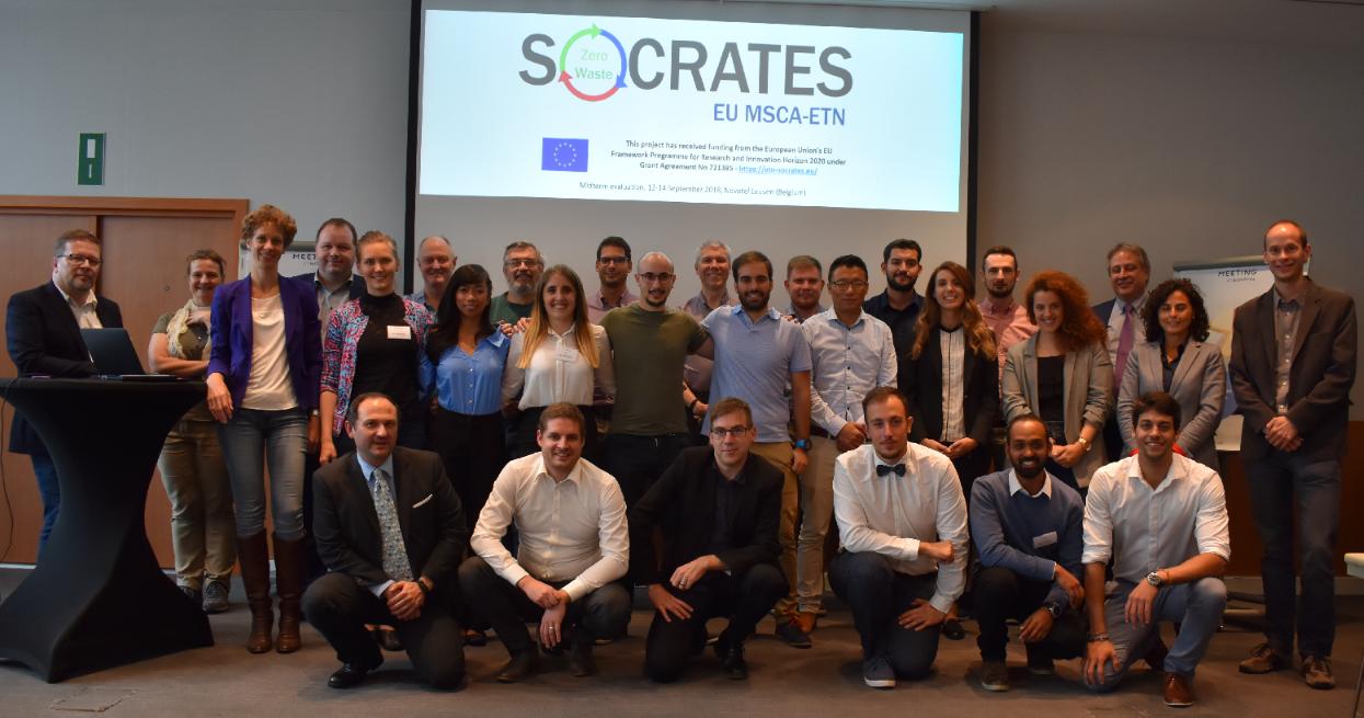 Group photo SOCRATES team