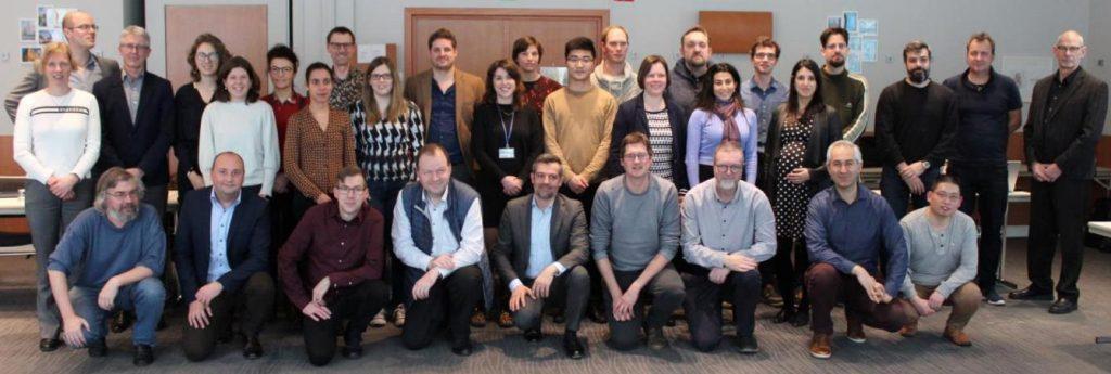 Group photo SIM2 Institute